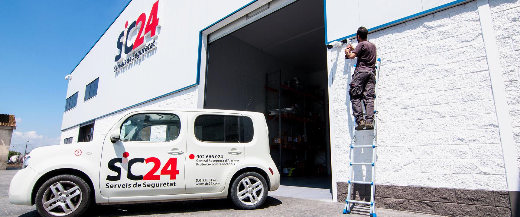 empresa seguretat Lleida SIC24