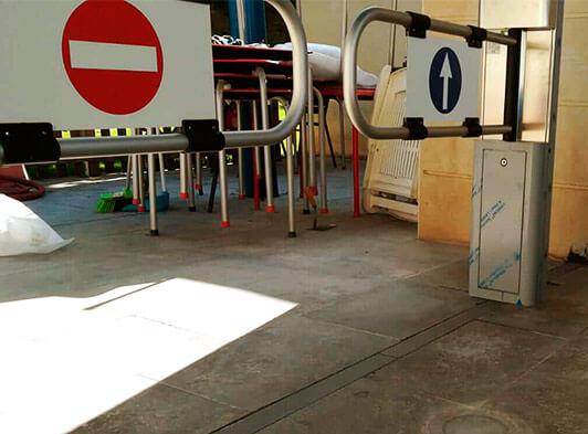 Sistema control acceso banderines 2