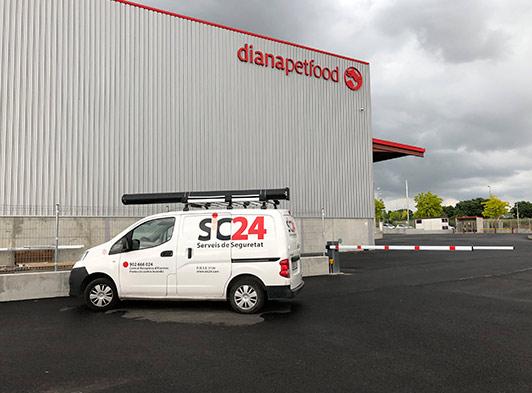 Sic24 en SPF Diana
